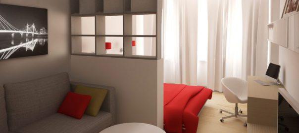 Как можно разделить комнату на функциональные зоны?
